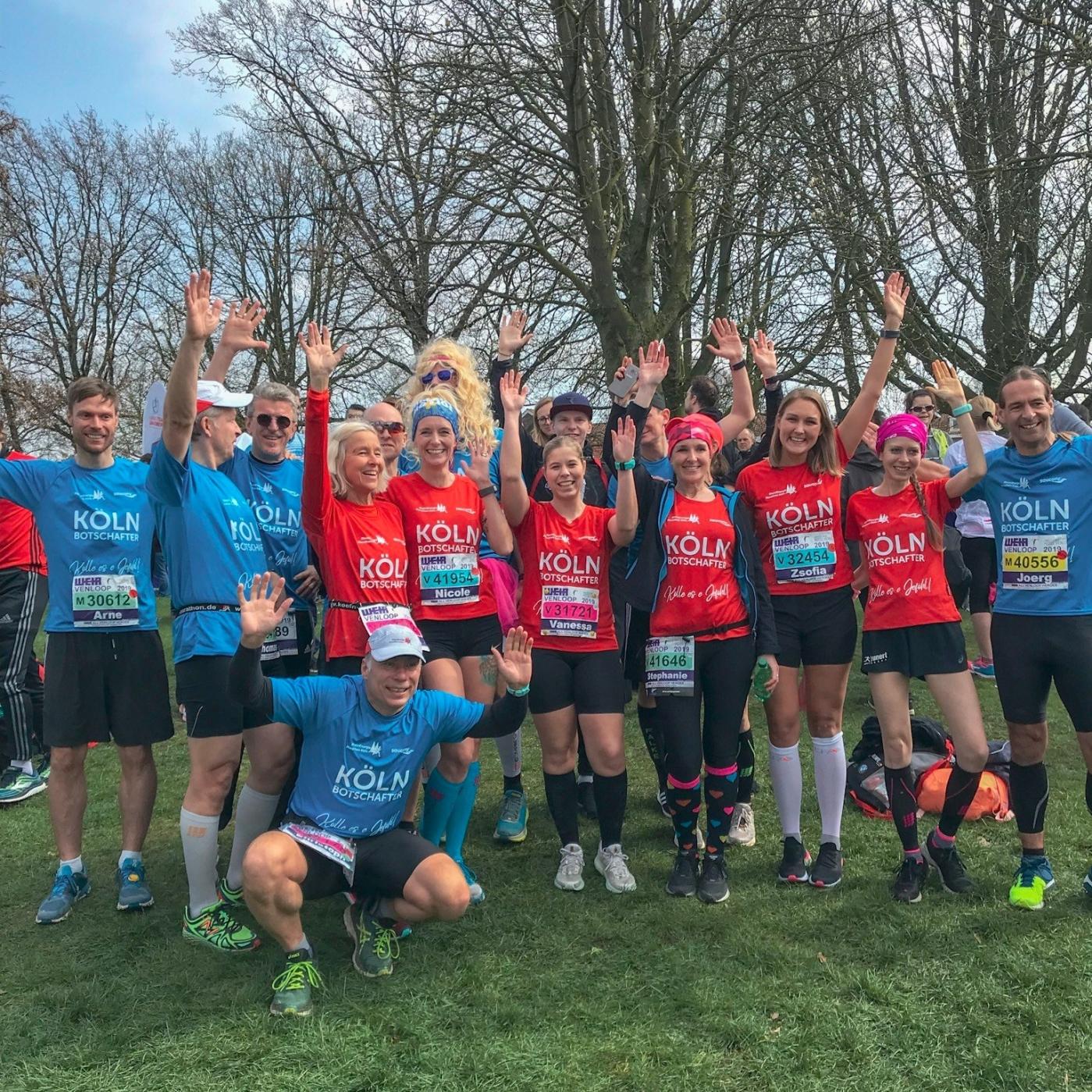 Kölnmarathon Laufbotschaftler 2019